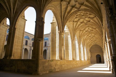 public monastery of yuso in la rioja spain