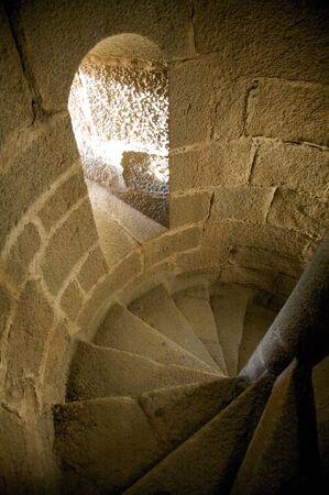 extremadura: public castle of granadilla in caceres extremadura spain