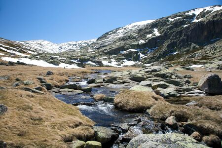 river at gredos mountains in avila spain Stock Photo - 5357721