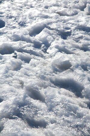 avila: snow gredos mountains in avila spain