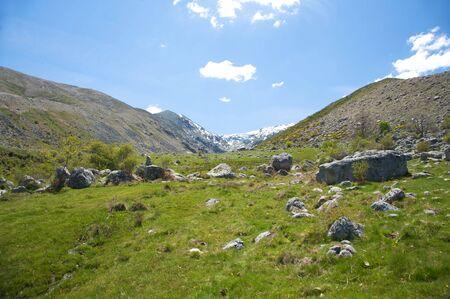 avila: gredos mountains in avila spain
