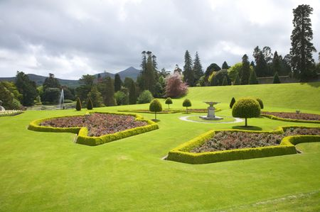 green meadow at a public park next to dublin Stock Photo - 5937058