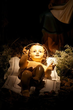 nativity scene with sacred family Stock Photo - 8527981