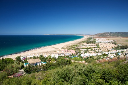 Zahara de los Atunes beach at Cadiz Andalusia in Spain photo