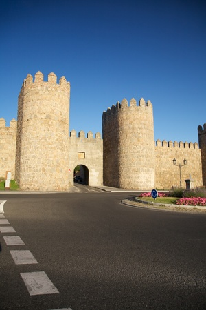 view of Avila city at Castilla in Spain Stock Photo - 9328009