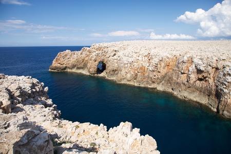 menorca: north coastline of Menorca island in Spain