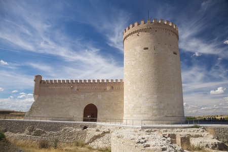 castle of Arevalo city in Avila Castilla y Leon Spain photo