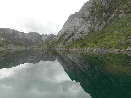 lofoten: Lofoten Lake Reflections Norway