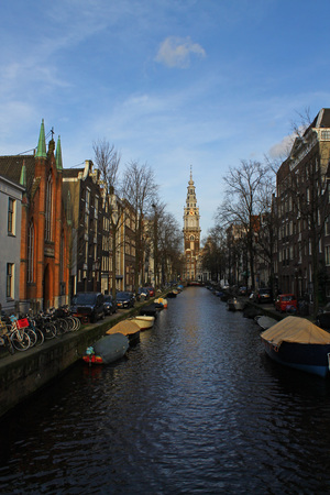 amsterdam canal: Amsterdam Canal Stock Photo