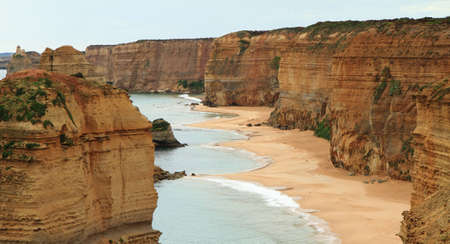 Close view of the Twelve apostles, Great Ocean Road, Victoria, Australia photo