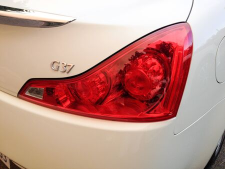 Right rear red tail light with G37