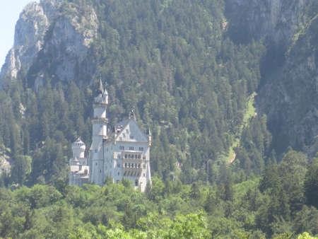 neuschwanstein: Exterior photo of the Neuschwanstein castle in Germany