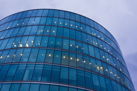 Office Building riverside of Thames, next to Tower Bridge photo
