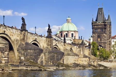 les plus: Pont Charles Karluv Most � Prague, R�publique tch�que