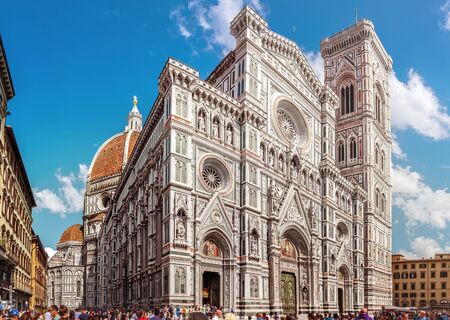fiore: Florence, Cathedral Santa Maria Del Fiore Basilica of Saint Mary of the Flower Tuscany, Italy