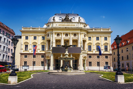 slovak: Slovak National Theatre, Bratislava, Slovakia Editorial