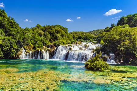 dalmatia: Waterfalls Krka, National Park, Dalmatia, Croatia