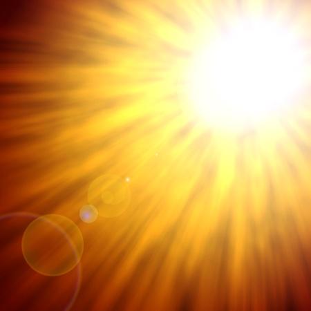 Sun background photo