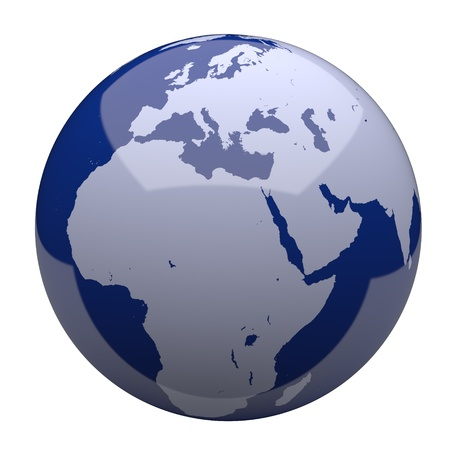 Blue Earth Globe photo