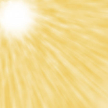 abstract blured sun rays yellow background concept