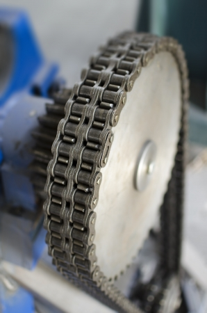 gear and chain Stock Photo - 21892932