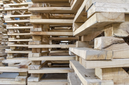 wooden pallets photo