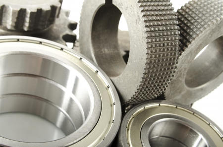 bearings and gear wheels photo