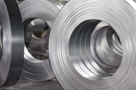 sheet metal tin rolls photo