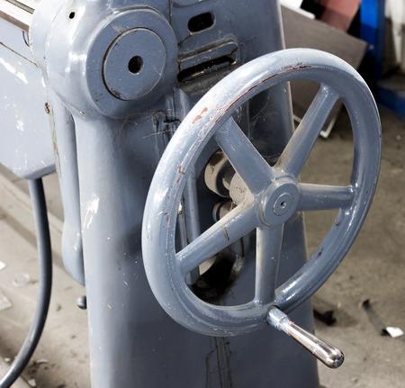 old machine photo