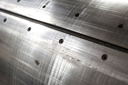 nickel panel: sheet metal abstract textured background Stock Photo