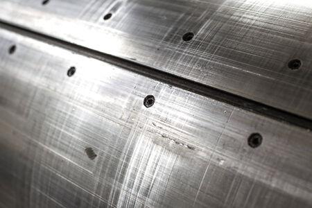 sheet metal: sheet metal abstract textured background Stock Photo