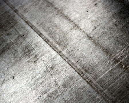 nickel panel: sheet tin metal abstract textured background Stock Photo