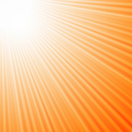 Sun rays background EPS10 Ilustração