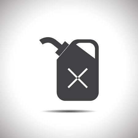 fuel: fuel can vector icon