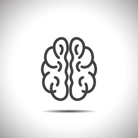 brain vector icon Vector