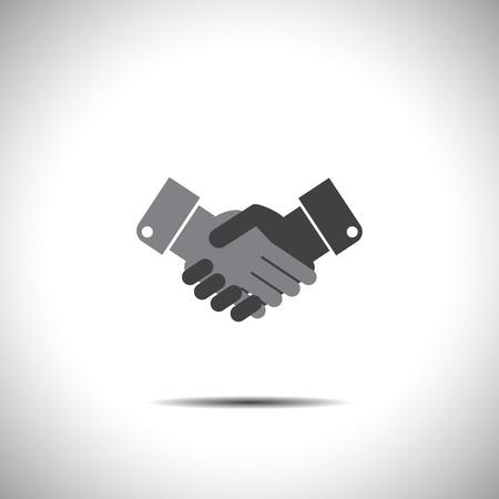 handshake vector icon Vector