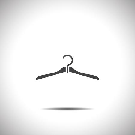 hanger vector icon Vector
