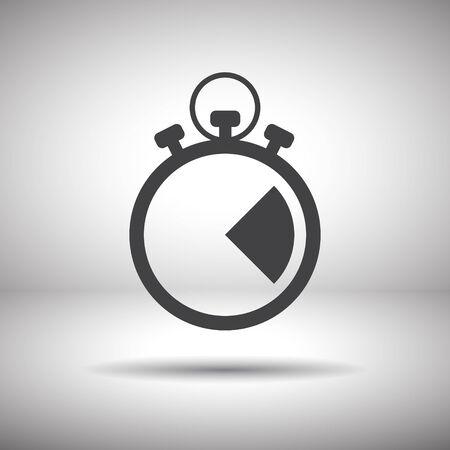 stopwatch vector icon Vector