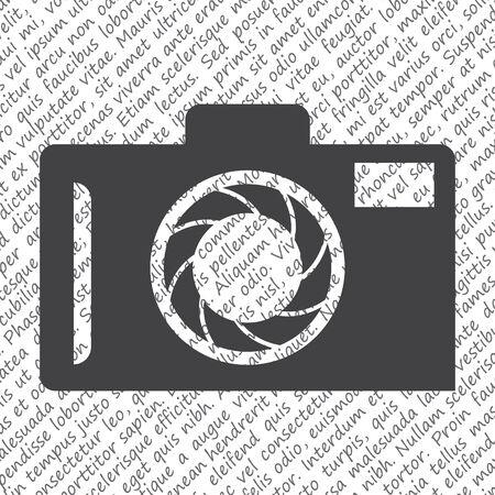 camera vector icon Vector