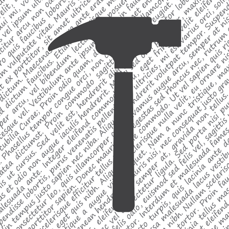 renovate: hammer vector icon