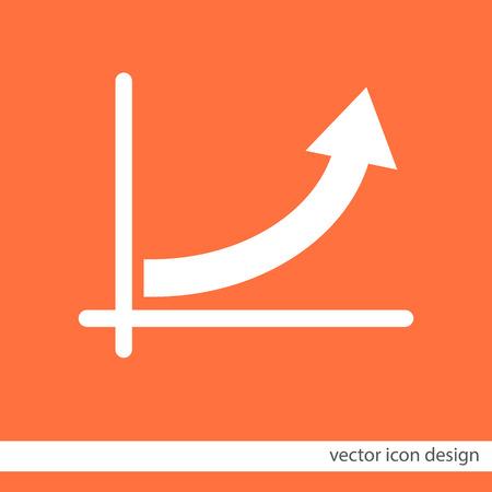 arrow�: gr�fico con el icono de la flecha del vector