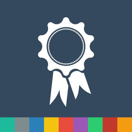 award ribbon: award ribbon vector icon