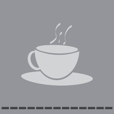 coffee cup vector icon Illustration