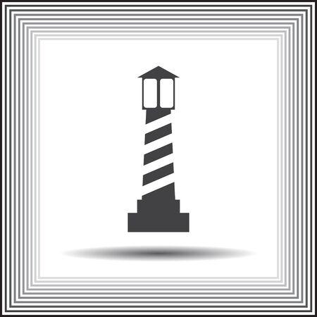 lighthouse vector icon Vector