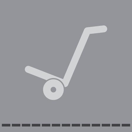 manual cart vector icon Vector