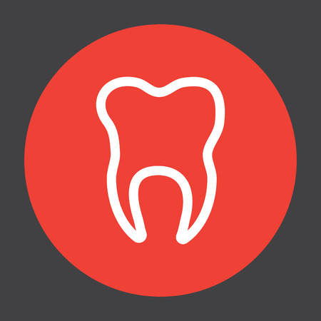 tooth vector icon Vector