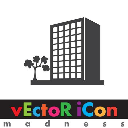 building vector icon Vector