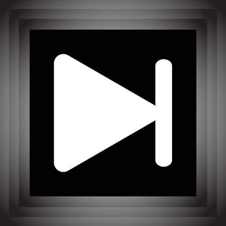 fast forward: avanti veloce brano successivo pulsante icone vettoriali
