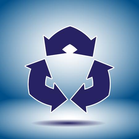 flèche double: double flèche signe vecteur icône Illustration