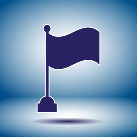 flag vector icon Vector